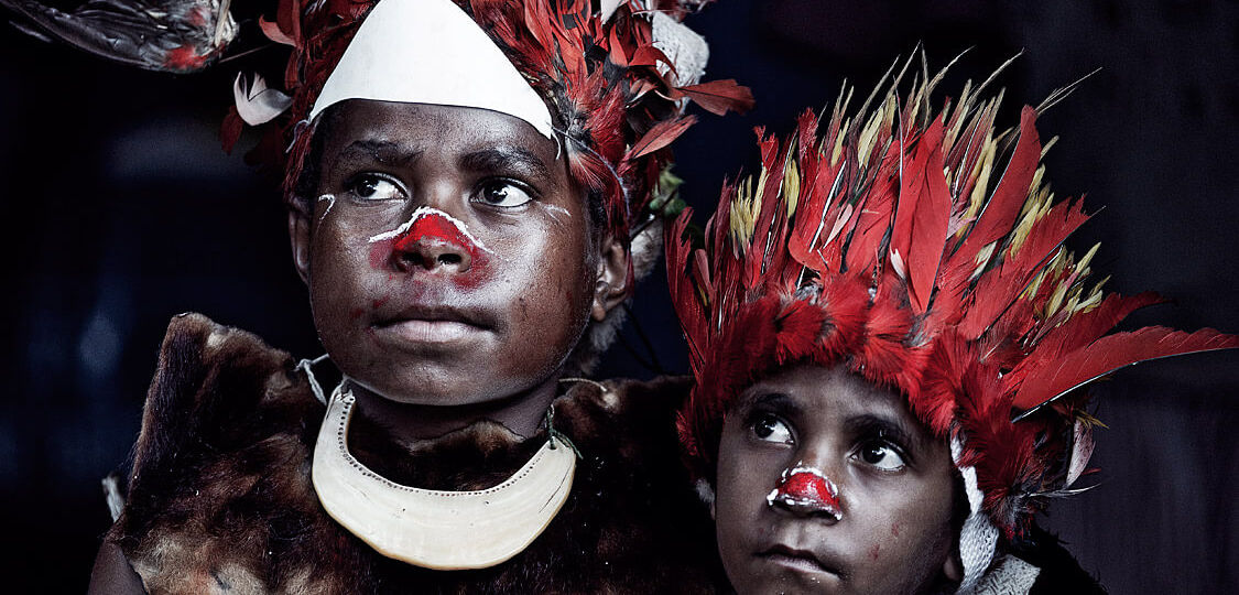Goroka Tribe by Jimmy Nelson